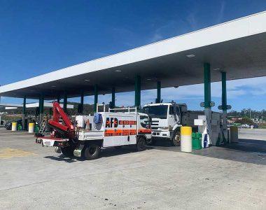 gas station roadside truck mechanic service brisbane